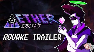 Rourke - The Wandering Vagrant | Aether Drift Character Teaser