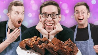 The Try Guys Bake Brownies Without A Recipe