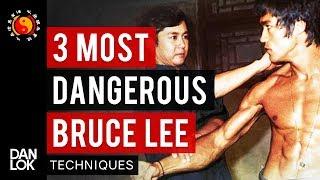 3 Most Dangerous Bruce Lee Fighting Techniques