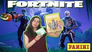 PANINI FORTNITE Series 1 OFFICIAL Card Collection Unboxing Fortnite trading cards