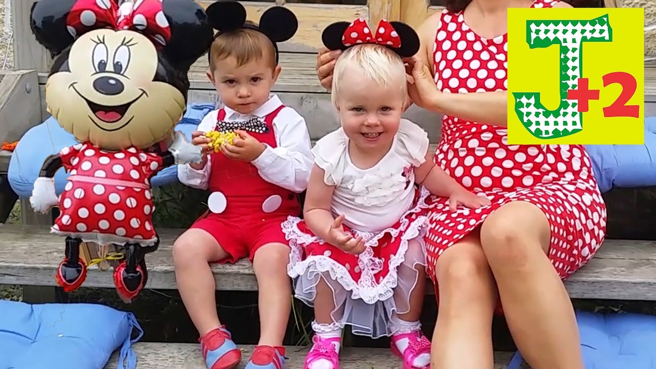 mickey mouse birthday party minnie mouse party twins birthday youtube