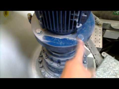 Vestas V90 inside the nacelle.  20120816 001