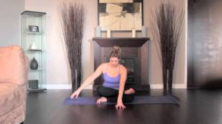 How to Yoga Series: Fire Log Pose Left Side