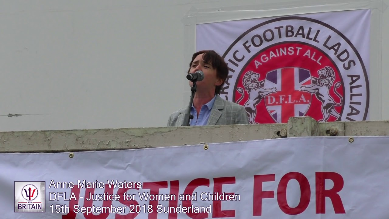 Anne Marie Waters At The Dfla Demo 15Th September 2018