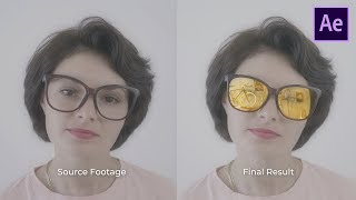 Creating Realistic Reflection on Sunglasses - After Effects Tutorial