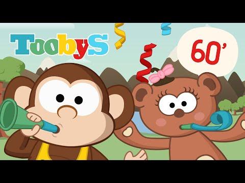 LA VACA LECHERA y 60 minutos de música para niños | Toobys