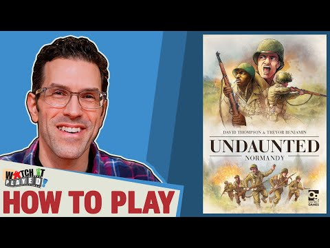 Undaunted: Normandy - How To Play