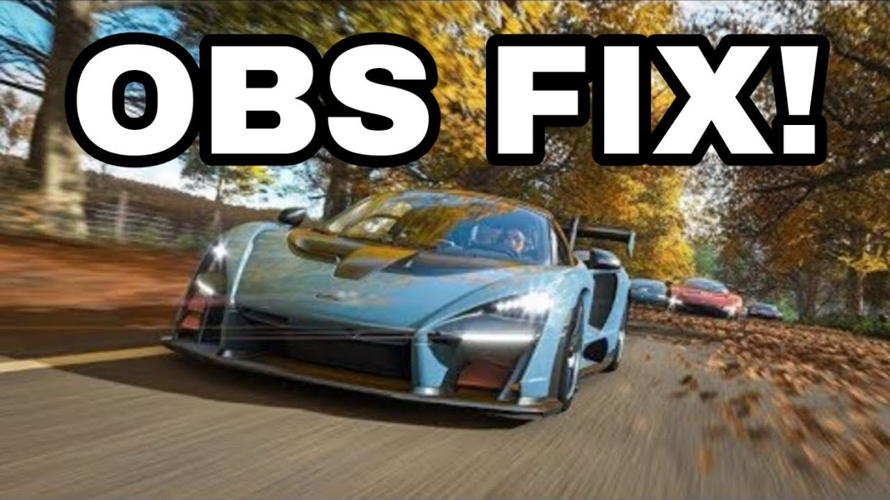Forza Horizon 4 CRASH FIX OBS!💥
