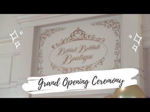 Bibbidi Bobbidi Boutique Grand Opening Ceremony | Disney's Grand Floridian Resort & Spa