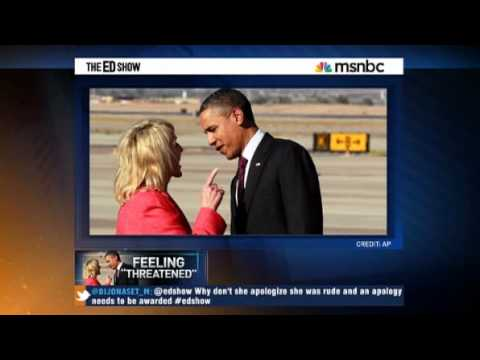 Gov Jan Brewer Lies about her Behavior towards Obama