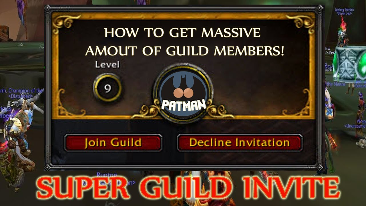 Superguildinvite Get Massive Amount Of Guild Members Funnycat Tv