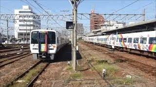 予讃線アンパンマン列車 8000系とリニューアルした2000系