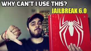 Spiderman Ps4 Slim not usable !! JAILBREAK 6.0? Watch this..