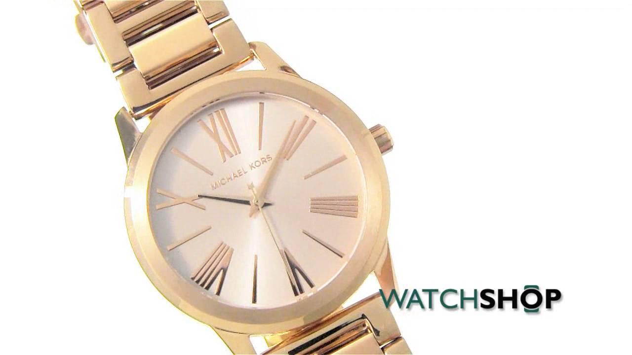 09a23ca673d0 Michael Kors Ladies  HARTMAN Watch (MK3491) - YouTube