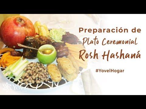 Preparación Plato Ceremonial de Rosh Hashaná