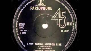 KW 25 THE COASTERS   Love Potion Number Nine
