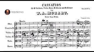 Play Cassation For Orchestra In B Flat Major, K. 99 (K. 63a)