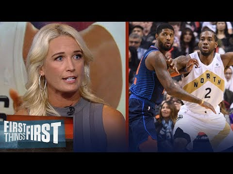 Kawhi - PG duo make Clippers the best team in the league - Sarah Kustok | NBA | FIRST THINGS FIRST