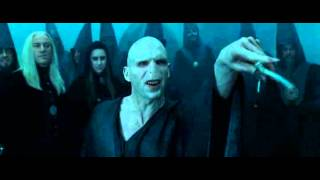 Гарри Поттер и Кубок огня (дуэль Гарри Поттера и Волан-Де-Морта)