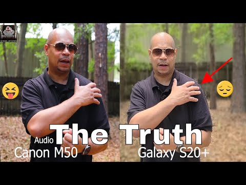 Galaxy S20 Plus Vs Canon M50 Cameras | Live focus Video Vs Bokeh | Phone Vs DSLR