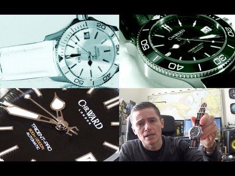 Christopher Ward C60 Trident Pro 600 - 38mm Ceramic Automatic Diver Watch Review - C60-38-AUTO-SKKK