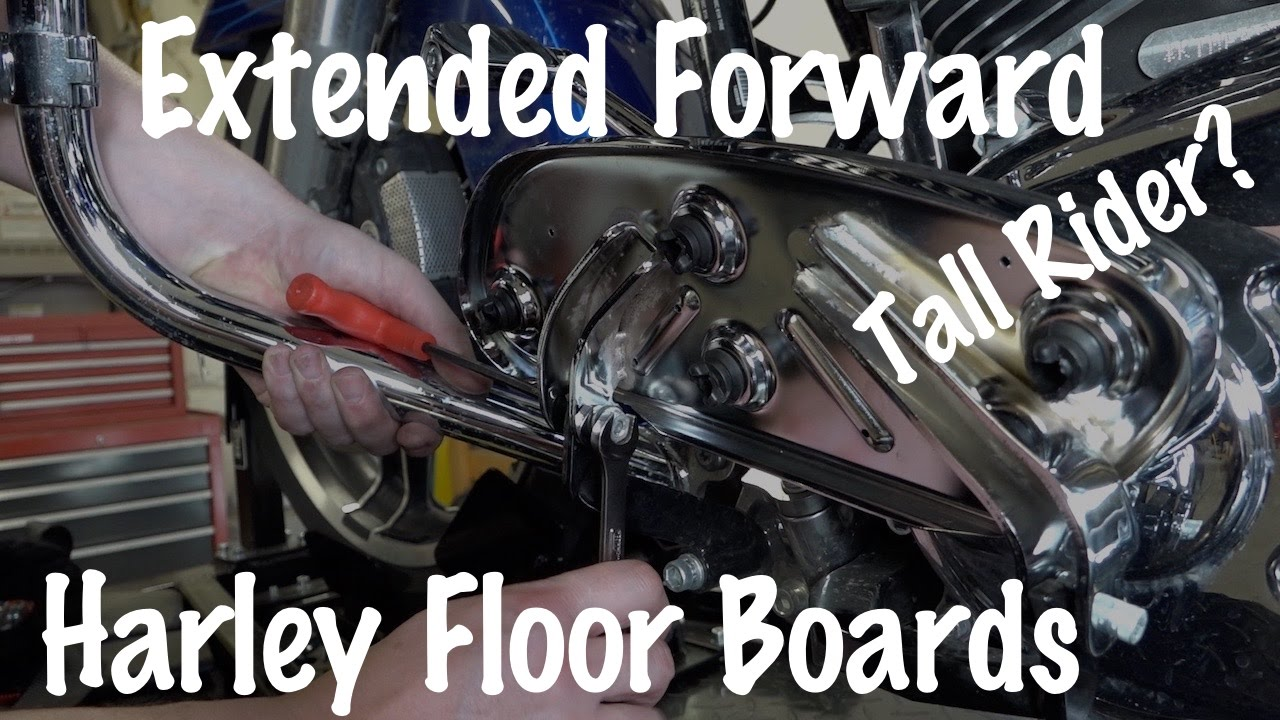 How To Install Harley Davidson Touring Extended Reach Floorboard Pans For Tall Rider