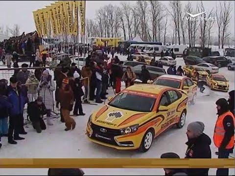 В селе Сосновка прошла XX Рождественская гонка чемпионов