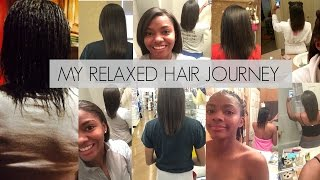Relaxed Hair Journey