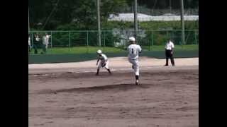 (#1)『平成24年上郡中学校野球部西播大会(vs新宮中7/21)』