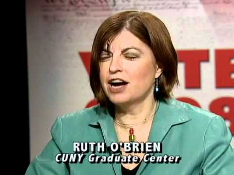 One to One: Dr. Ruth O'Brien, Chair, PhD. & MA Political Science Programs, CUNY Graduate Center