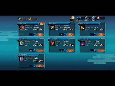 Naruto Online F2P- spending over 16'000 coupons durring fuku deals