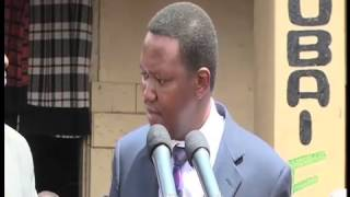 Gov. Alfred Mutua Launches Sh2.5B Piped Water Project