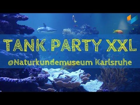 1/3 240.000 Liter Meerwasser im Naturkundemuseum Karlsruhe (Backstage Führung) / TANK PARTY XXL
