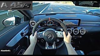 The New Mercedes A45 S AMG POV Test Drive 2020/2021 | A Class AMG