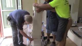 Part 2 Of 4: How To Install A Fireplace Mantel Chimney Piece & Hearth