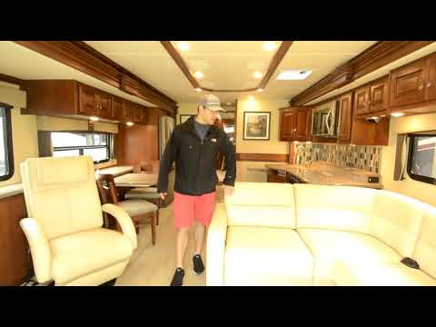 The RV Corral 2016 Fleetwood Discovery 37R Stock # CA1011
