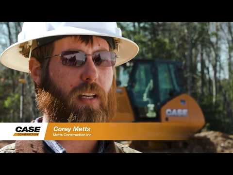 Europe: CASE Customer Testimonial - Metts Construction And The 1150M