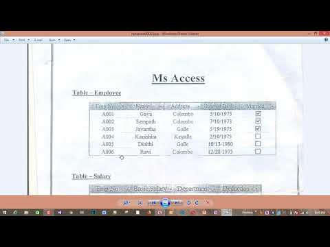 Access Model Paper In Tamil | NVQ Level 4 ICTT | 2019 | Paper ~ 1