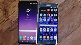 Samasung Galaxy S8 VS Galaxy S7 Edge : Full Comparison !