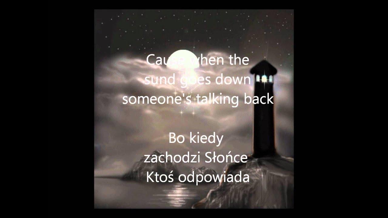 Bruno Mars Talking To The Moon Lyrics Polish Translate Tekst Tlumaczenie Youtube