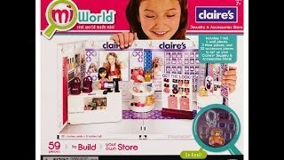 miWorld Claires Boutique Jewelry & Accessories Store Deluxe Set - KidToyTesters
