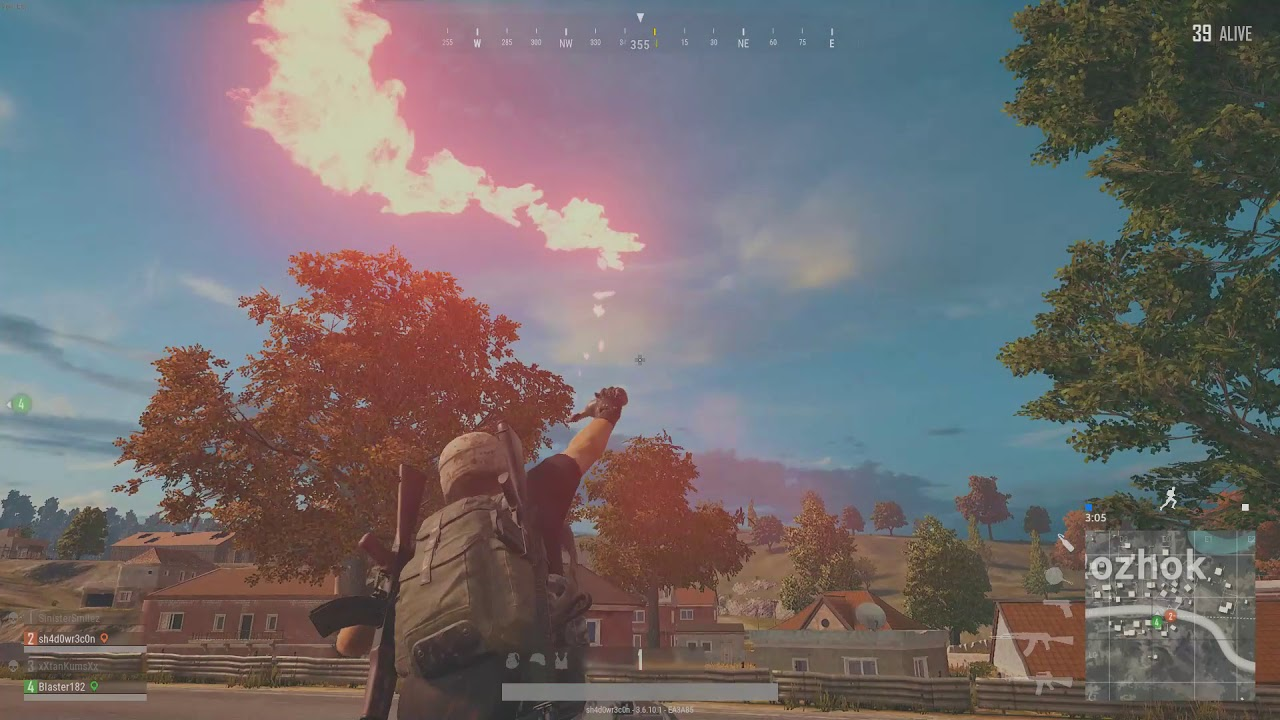 M16 Burst And One Lucky 1911 HS