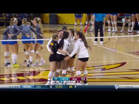 UCLA at Arizona State - NCAA Women's Volleyball (Nov 5th 2016)