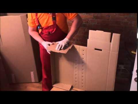 Сборка короба гардероба