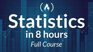 Statistics - A Fขll University Course on Data Science Basics