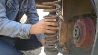 Как менять задние пружины на ВАЗ