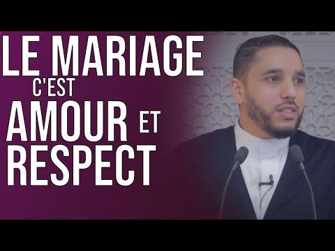 LE MARIAGE C&39;EST AMOUR ET RESPECT PAS LA GUERRE  Rachid ELJAY