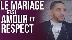 LE MARIAGE C'EST AMOUR ET RESPECT, PAS LA GUERRE !
