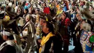 GATHERING OF NATIONS POW WOW 2019 : Grand Entry Friday Evening