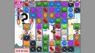 Candy Crush Saga Level 696 No Boosters